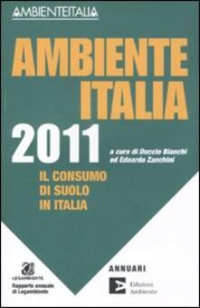 Equilibrifestival.it Ambiente Italia 2011. Il consumo di suolo in Italia Image