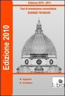 Test di ammissione universitaria. Scienze tecniche. CD-ROM.pdf