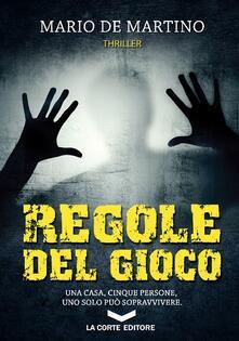 Regole del gioco - Mario De Martino - copertina