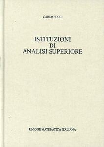 Istituzioni di analisi superiore