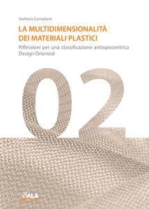 La multidimensionalità dei materiali plastici. Riflessioni per una classificazione antropocentrica design oriented