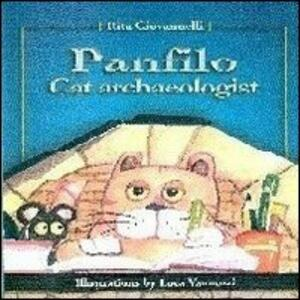 Panfilo the cat archaeologist