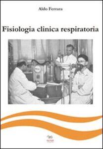 Fisiologia clinica respiratoria