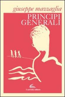 Principi generali - Giuseppe Mazzaglia - copertina