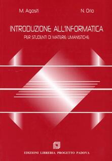 Antondemarirreguera.es Introduzione all'informatica. Per studenti di materie umanistiche Image