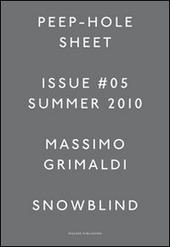 Massimo Grimaldi. Peep-Hole Sheet. Ediz. multilingue. Vol. 5