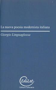 La nuova poesia modernista italiana - Giorgio Linguaglossa - copertina
