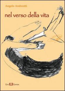 Nel verso della vita - Angelo Andreotti - copertina