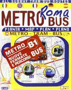 Libro Roma in metrobus. Pianta
