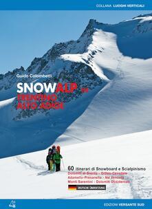 Daddyswing.es Snowalp in Trentino Alto Adige. 60 itinerari di snowboard e scialpinismo Image