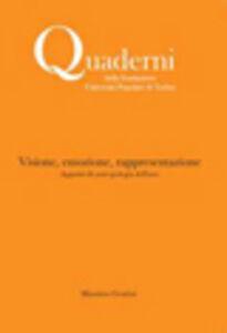 Visione, emozione, rappresentazione. Appunti di antropologia dell'arte