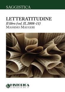 Letteratitudine. Vol. 2 - Massimo Maugeri - copertina