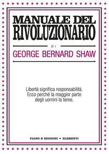 Manuale del rivoluzionario - George Bernard Shaw - copertina