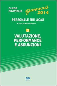 Valutazione, performance e assunzioni. Personale enti locali. Con aggiornamento online