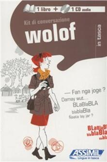 Atomicabionda-ilfilm.it Wolof. Kit di conversazione. Con CD Audio Image