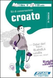 Radiospeed.it Croato. Kit di conversazione. Con CD Audio Image
