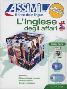 Antondemarirreguera.es L' inglese degli affari. Con 4 CD Audio. Con 2 CD Audio formato MP3 Image