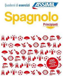 Listadelpopolo.it Spagnolo. Quaderno di esercizi. Principianti Image
