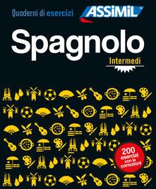 Ilmeglio-delweb.it Spagnolo. Quaderno di esercizi. Intermedi Image