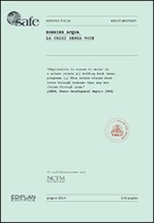 Dossier acqua. La crisi senza voce - Adriano Piglia,Giulia Mazzanti - copertina