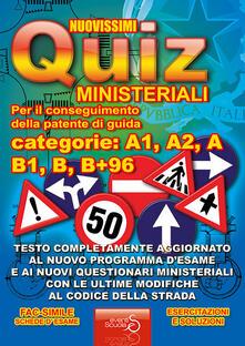 Antondemarirreguera.es Nuovissimi quiz patente. Quiz ministeriali per il conseguimento della patente di guida categoria A1, A2, A, B1, B, B+96. Testo completamente aggiornato... Image