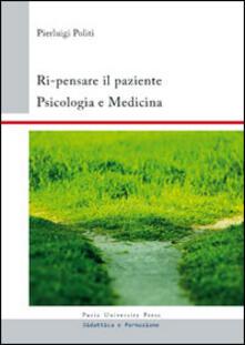 Voluntariadobaleares2014.es Ri-pensare il paziente. Psicologia e medicina Image