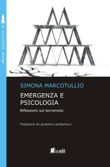 Emergenza e psicologia. Riflessioni sul terremoto.pdf