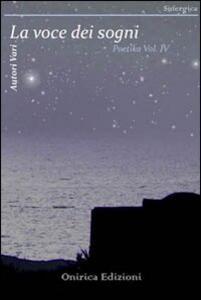 Poetika. Vol. 4: La voce dei sogni.
