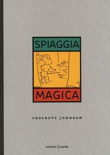 Spiaggia magica - Crockett Johnson - copertina
