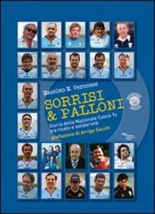 Parcoarenas.it Sorrisi & palloni. Storia della nazionale calcio TV tra risate e solidarietà Image