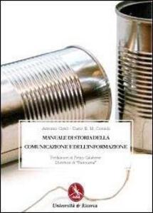 Manuale di storia della comunicazione e dell'informazione