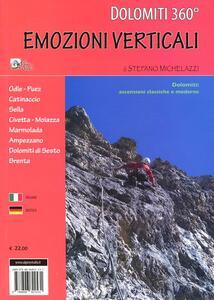Libro Dolomiti 360°. Emozioni verticali Stefano Michelazzi