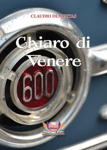 Chiaro di Venere - Claudio Demurtas - copertina
