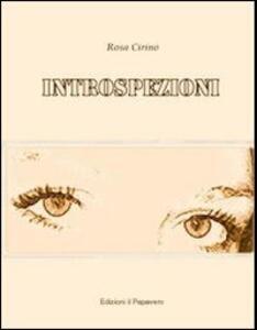 Introspezioni - Rosa Cirino - copertina