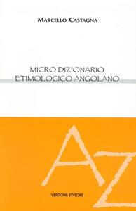 Micro dizionario etimologico angolano