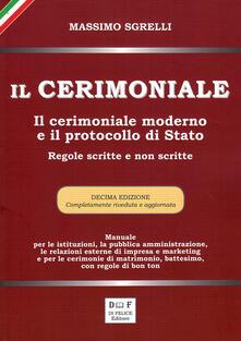 Vitalitart.it Il cerimoniale. Il cerimoniale moderno e il protocollo di Stato. Regole scritte e non scritte Image