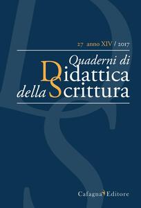 QdS. Quaderni di didattica della scrittura (2017). Vol. 27