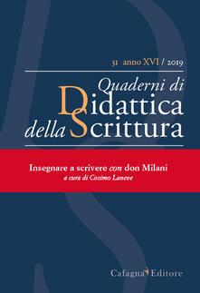 QdS. Quaderni di didattica della scrittura (2019). Vol. 31.pdf