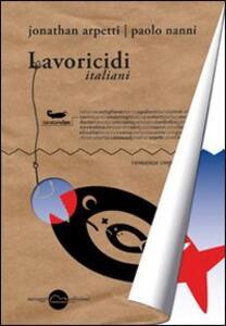 Lavoricidi italiani - copertina