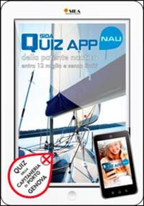 SIDA quiz app NAU. Patente nautica. Quiz della capitaneria di porto di Genova