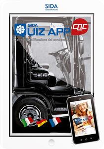 Quiz App CQC. Carta di qualificazione del conducente. Ediz. italiana, tedesca e francese