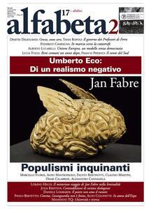 Alfabeta2. Vol. 17 - Jan, Fabre - ebook