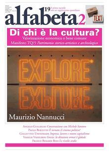 Alfabeta2. Vol. 19 - Maurizio Nannucci,Paolo Bertetto,Vassilis Vassilikos,alfabeta2 - ebook