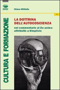La dottrina dell'autocoscienza nel commentario al De Anima attribuito a Simplicio