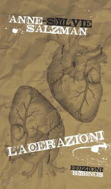 Lacerazioni - Anne-Sylvie Salzman - copertina