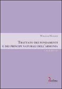 Trattato dei fondamenti e dei principi naturali dell'armonia