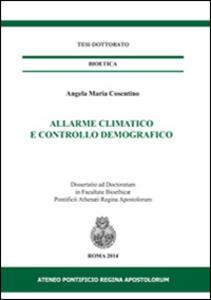 Allarme climatico e controllo demografico