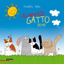 Calendario gatto 2019 - Nicoletta Costa - copertina