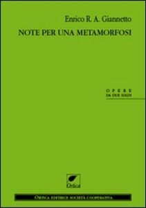 Note per una metamorfosi