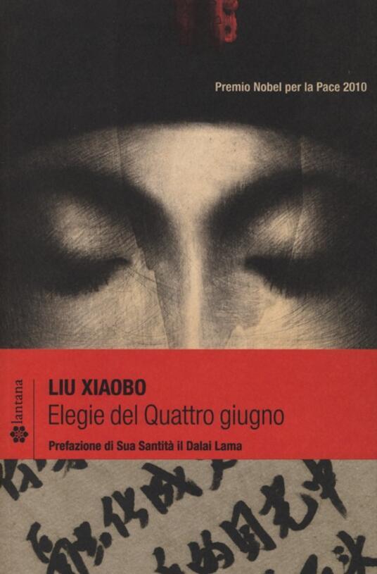 Elegie del Quattro giugno - Liu Xiaobo - copertina